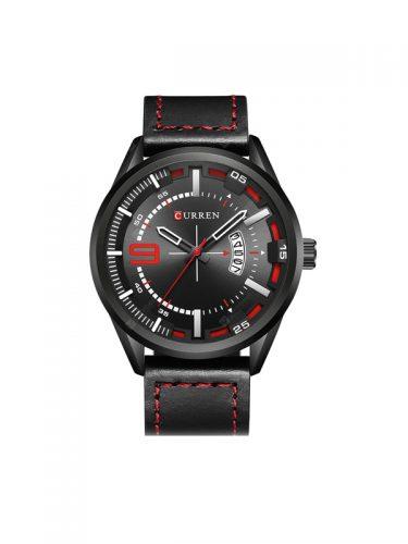 Ανδρικό ρολόι Curren με δερμάτινο λουράκι και ένδειξη ημερομηνίας